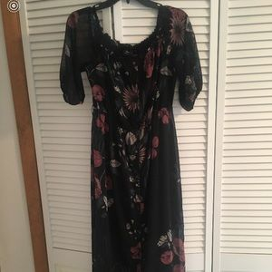 Lord and Taylor Floral dress worn once